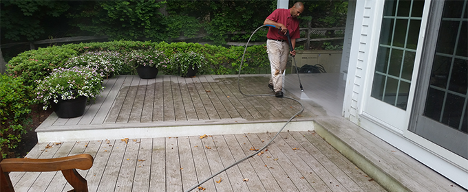 deck cleaning, mold, mildew removal  power washing